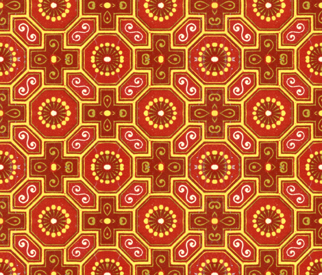 chinoise 18 fabric by hypersphere on Spoonflower - custom fabric