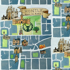 Huntly Map