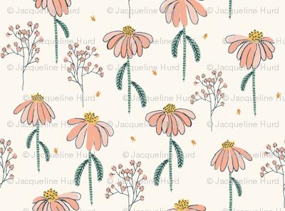 Autumn Echinaceas