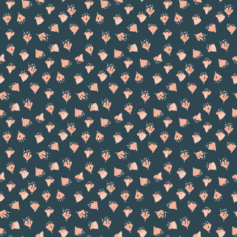 Ditsy Floral fabric by jacquelinehurd on Spoonflower - custom fabric