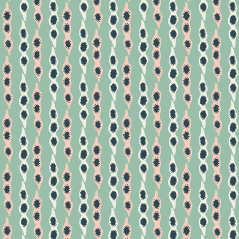 Spring Pods fabric by jacquelinehurd on Spoonflower - custom fabric