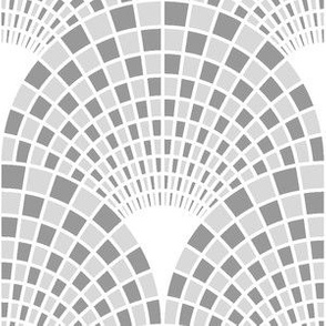 06657834 : scale mosaic check : grey