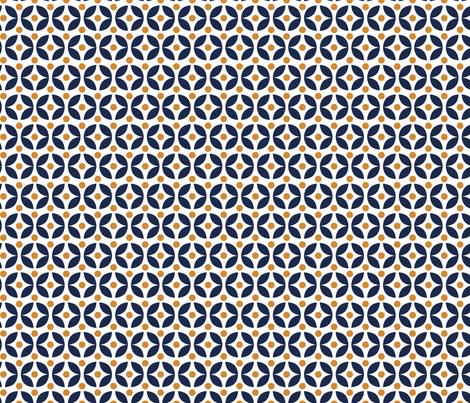 Scandinavian Leaves fabric by ollysweatshirt on Spoonflower - custom fabric