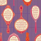 MIRROR-WAPH Warm Apricot / Purple Heart