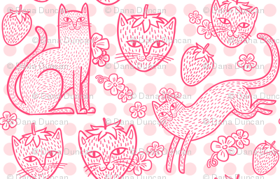 Strawpurry in Fruity Dots