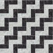 Chevron Mosaicc Marble Tile
