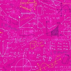 Math Lessons (Pink)