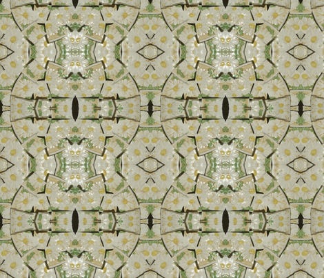 Geometric Flower Child fabric by jillmichelle on Spoonflower - custom fabric