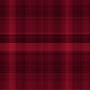 Subtle Red and Black Plaid