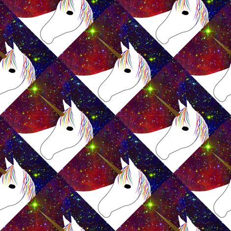 Triangle Unicorns fabric by coveredbydesign on Spoonflower - custom fabric
