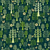 Secret forest map