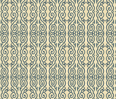 chinoise 32 fabric by hypersphere on Spoonflower - custom fabric