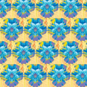 Pop Of Flower Florida-splattered