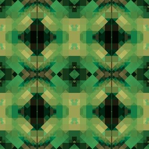 Green and Black Mosaic