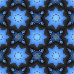 Prairie Sky Star Fractal