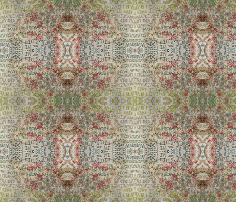 GIRL 2 fabric by cunninghamchristine on Spoonflower - custom fabric