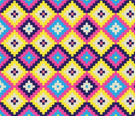 Rtribal_diamonds_neon_pattern_shop_preview