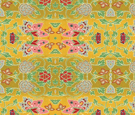 chinoise 36 fabric by hypersphere on Spoonflower - custom fabric