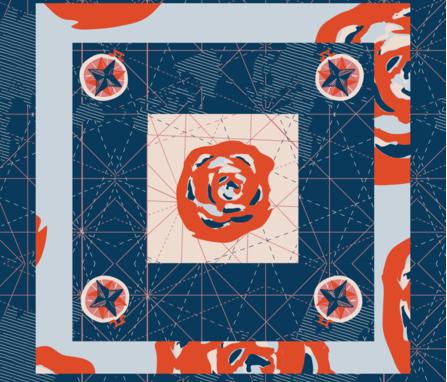 Map Scarf fabric by jvasquez on Spoonflower - custom fabric