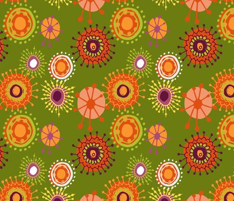 70's Boho fabric by lramer on Spoonflower - custom fabric