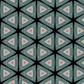 Geometric Triangle Pattern