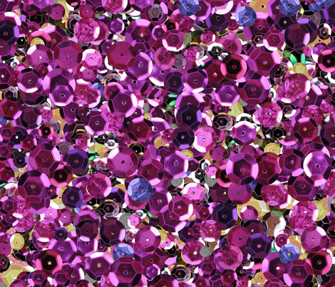 Pink and Magenta Jumbo Sequins Seamless Pattern fabric by totes_adorbs on Spoonflower - custom fabric