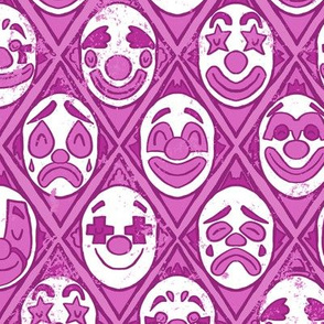 Purple Clowns