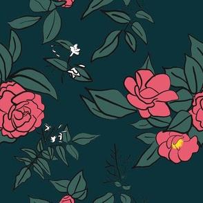 Camellia and Jasmine