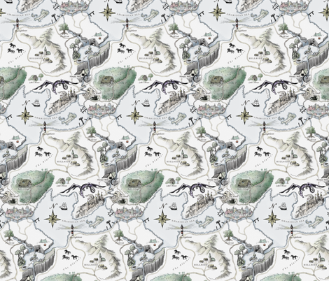 The Grand Adventure fabric by miaclarke on Spoonflower - custom fabric