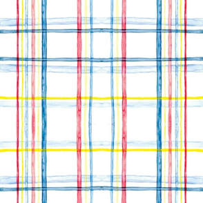Watercolor Plaid