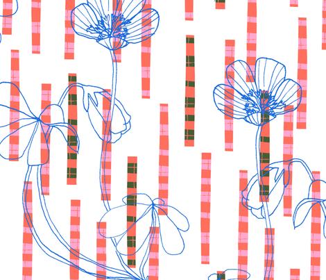 Wood Sorrel Tartan fabric by zoe_ingram on Spoonflower - custom fabric