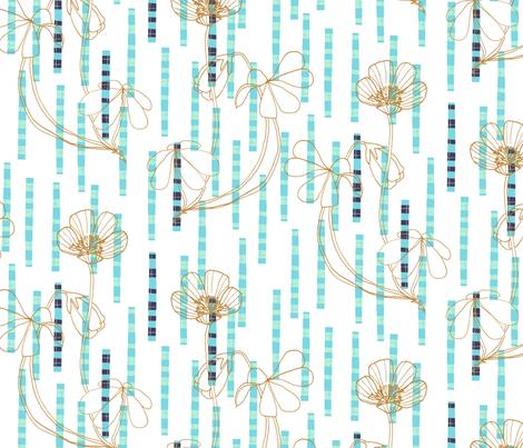 wood sorrel tartan cool fabric by zoe_ingram on Spoonflower - custom fabric