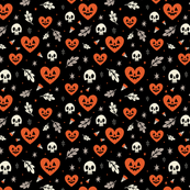 I Heart Halloween (Black)