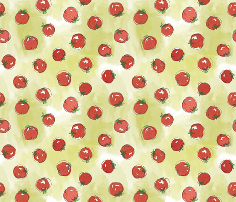 Solanum fabric by the_outfoxed on Spoonflower - custom fabric