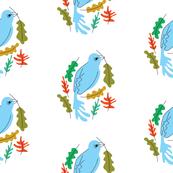 Birdie & Leaves