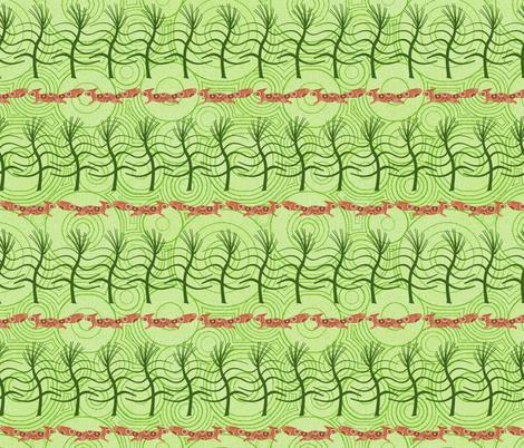 ekorre springa fabric by keweenawchris on Spoonflower - custom fabric