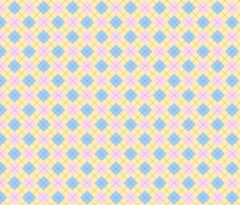 Argyle_pastels fabric by colour_angel_by_kv on Spoonflower - custom fabric