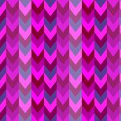 Bohemian geometric purple/ pink / teal chevron