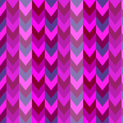 Chevron  purple/ pink / teal chevron