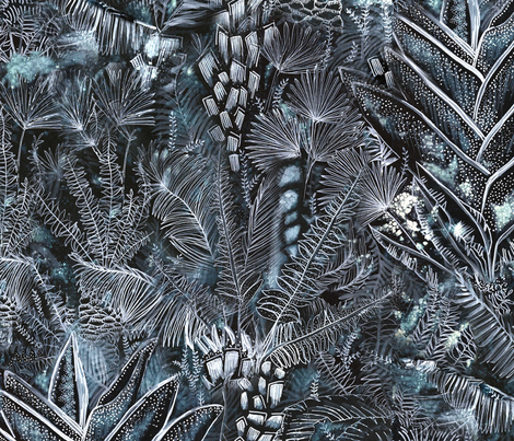 Busy Forest fabric by alexandradyer on Spoonflower - custom fabric
