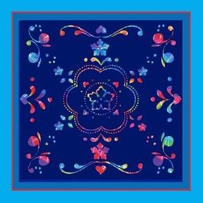 Folk Style Tye Dye
