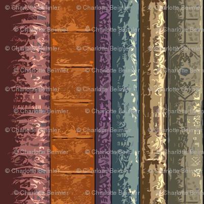 Book Spines Stripe