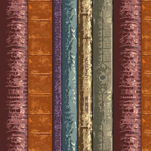Book Spines Stripe