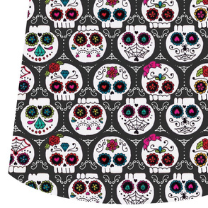 sugar skull market bag