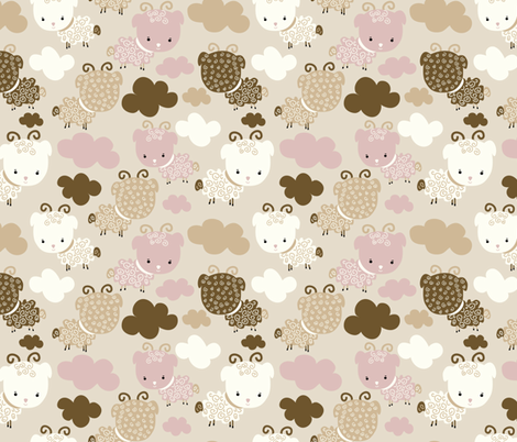 Sleep Well fabric by webvilla on Spoonflower - custom fabric