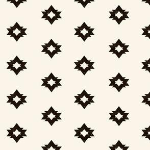 aztec fabric // geometric bear coordinate shape cream and black nursery baby design by andrea lauren
