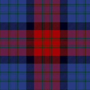 MacInroy wedding tartan, dark, 6""
