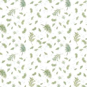 sierra baby leaves_white