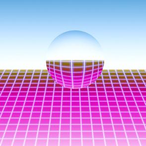 Neon Sphere