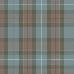 reversed Fraser hunting tartan, red stripe
